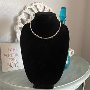 Brighton Beaded Two Tone Necklace